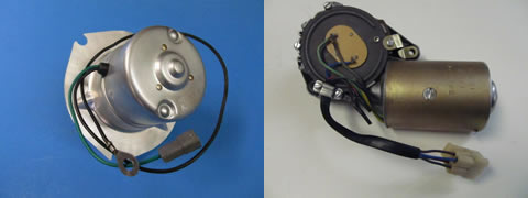 3-Speed Wiper Motor and Blower Motor